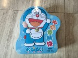 润谷 哆啦A梦 牛奶香脆饼儿童礼盒 (异形罐) 200g