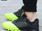 新款健身房超轻跑步鞋气垫网面运动鞋休闲跑