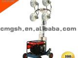 泛光灯照明移动照明灯塔车 小型移动照明灯