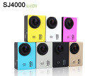 SJ4000防水运动DV摄像机 七种颜色color ref 热销1080P高清D