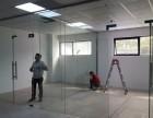 免费测量 上海浦东区定做钢化玻璃门:玻璃隔断