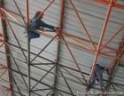 攀枝花加油站球型钢梁除锈刷油漆