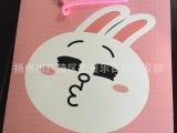 韩版礼品纸袋批发 可爱动物中号环保礼品纸