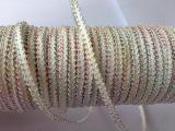 低价直销 纺织辅料人造丝织带 172米人丝10/1米骨半七彩蜈蚣