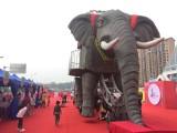 巡游机械大象出租租赁厂家一站式服务让您更省心