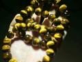 石微宣 纯天然南非5A黄虎眼石手链