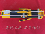 厂家直销 800豪激带弹簧 手动瓷砖切割机 铁底双轨瓷砖机械 拉刀