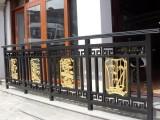 成都别墅铝艺阳台护栏