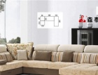 现代风格布艺沙发批发、加盟