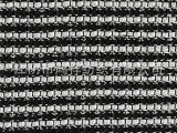1240#带子纱条纹花式布  小香风格服装色织提花面料