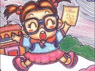 白石少儿幼儿绘画儿童画手工制作思想启蒙培训