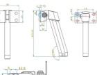 索诚自动闭合阻尼轴SC-329-16闭合转轴供应商