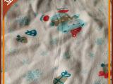 专业经销 40s精梳高密全棉儿童印花汗布 拉架针织面料汗布