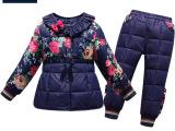2015冬女童棉衣羽绒棉内胆套装 宝宝棉袄儿童棉服外套正品批发