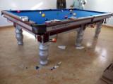 臺球桌專賣 中式黑八臺球桌價格 臺球桌組裝調試