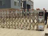 德陽向陽水廠安裝捷鷹科技伸縮門