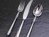 西餐刀叉/不锈钢餐具 **精美高档餐具 刀叉勺 欧式镀银刀叉批发