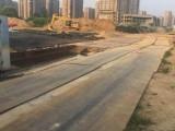 珠海市金湾区平沙镇铺路钢板出租 5元起钢板出租公司