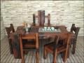 百年老船木家具茶桌专门为你私人定制完美家具.