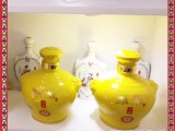 辰天陶瓷 酒瓶定做 颜色釉酒瓶 粉彩酒瓶
