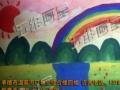 五维画室寒假创意美术班 寒假托管班写作业绘画手工动漫书法班