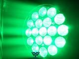 舞台染色灯19颗15W LED摇头光束灯