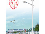 龙逸照明 led路灯 6米太阳能路灯单臂太阳能路灯 路灯厂家