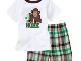 厂家供应 欧美男童套装 儿童两件套五分裤