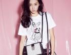 白色t恤女短袖2018夏装新款女装韩版纯色上衣字母学生体恤衫