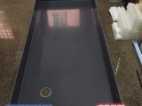 专业焊接pp塑料耐酸碱酸洗槽加工pp电池箱接水盘