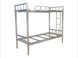 不锈钢双层床 上下铺定做 广州不锈钢床