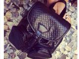 2014新款女包B家大牌时尚编织压印双肩包时尚复古背包旅行包书包