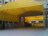 武汉大型伸缩雨棚 大排档移动雨棚 车库伸缩雨棚