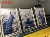 深圳做电视背景墙的工艺有哪些背景墙打印机UV打印机