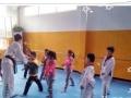 中国黄河少儿艺术团运城分团少儿跆拳道班