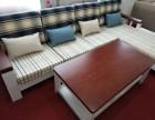 地中海实木转角沙发