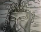 太仓素描专业培训课程哪里有,透视静物人体肖像怎么画