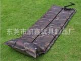 厂家供应自动充气植绒床垫,自动充气床垫,自动充气单人床垫