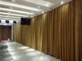 北京电动窗帘厂家 崇文区办公会议室电动布艺开合帘