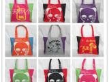 新款帆布单肩包潮流韩版休闲环保购物袋学院款学生背包休闲街头包