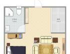 万达广场1室1厅1卫1阳台高档家私电,设施完善