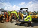 陕西安康二手小型20,35,60履带,轮式挖掘机