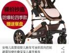 婴儿减震三用推车