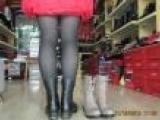 2013厂家直销牛皮女鞋鞋带拉链时尚个性休闲爆款真皮女靴 短靴女