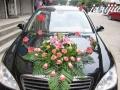 婚礼花车布置