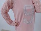 2014新春靓丽 韩国东大门新款点钻 蕾丝T恤 超值女装