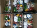郑州预定蔬菜年货集装箱批发