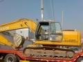 国五挖机拖车工程机械平板运输车厂家直销