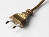 欧式脚踏开关电源线 VDE电源线 2插欧标电源线  插头电源线