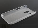 三星S7562透明皮纹PC壳磨砂单底 水晶壳批发 S7562手机